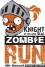 Knight of the Living Dead Zombie 5K