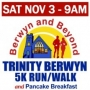 9th Trinity Berwyn 5K Run/Walk & Pancake Breakfast