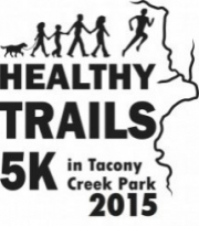 3rd Annual Healthy Trails 5k in Tacony Creek Park