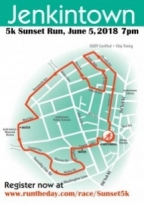 Jenkintown Sunset 5K Run
