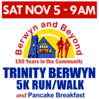 2016 Trinity Berwyn 5K Run/Walk and Pancake Breakfast